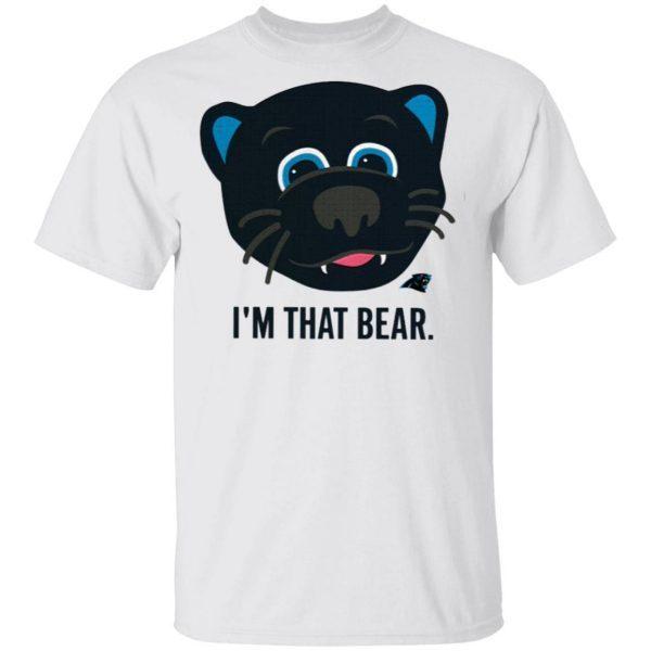 Carolina Panthers I'm That Bear T-Shirt