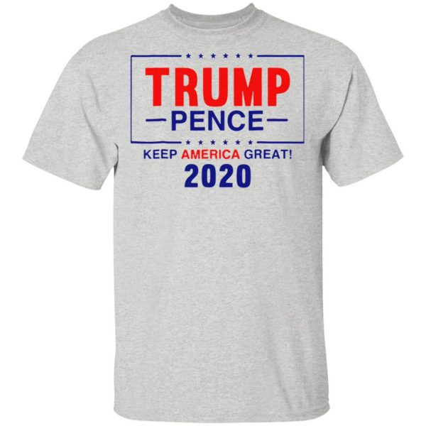 Happy Trump Pence Keep America Great 2020 T-Shirt