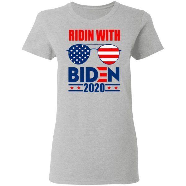 Ridin with biden 2020 T-Shirt