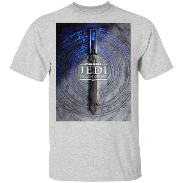 Star Wars Jedi Fallen Order Teaser Image Lightsaber T-Shirt