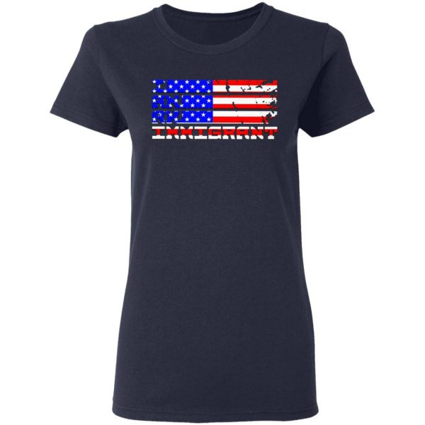 I stand with immigrants American T-Shirt