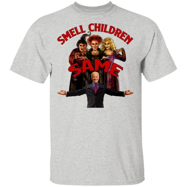 Hocus Pocus Joe Biden Smell Children T-Shirt