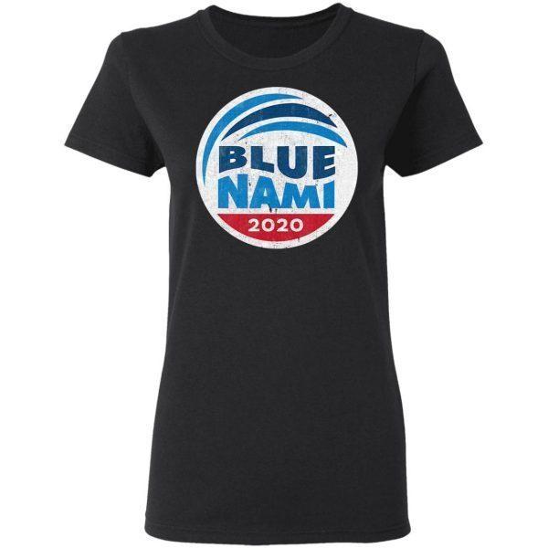 Blue Nami Blue Wave 2020 Democrat T-Shirt