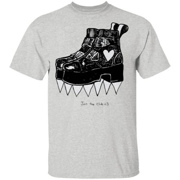 Deathstud Boots Join The Club T-Shirt