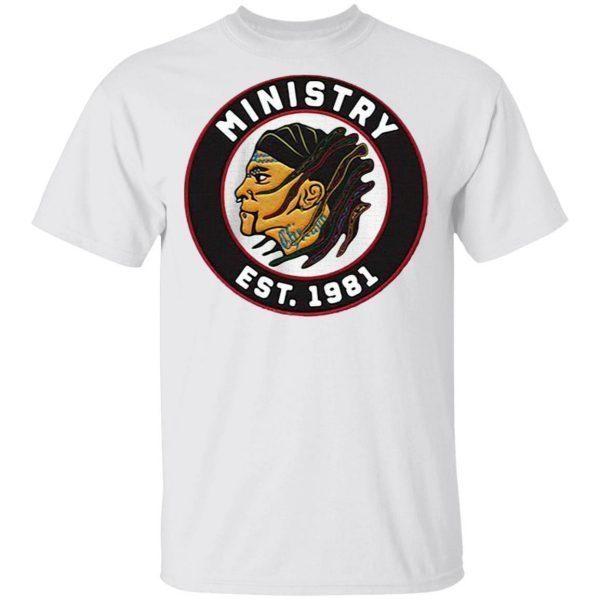Ministry est 1981 firevall vintage T-Shirt