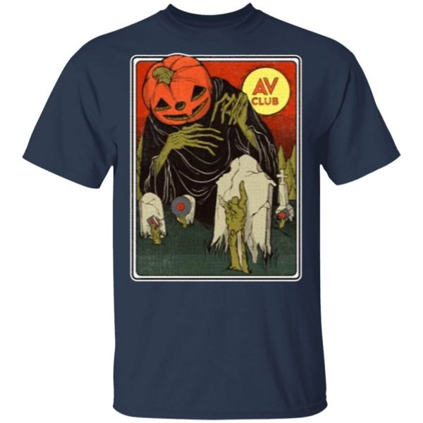 The AV Club Halloween Merch Night Of The Living Dead T-Shirt