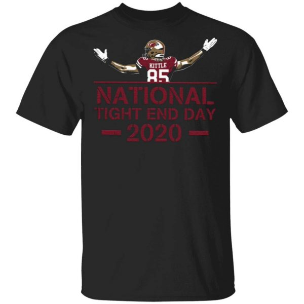 National Tight End Day 2020 T-Shirt