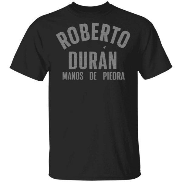 Roberto Duran Manos de Piedra Black T-Shirt