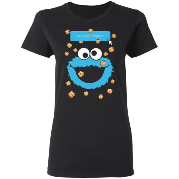 Cookie Monster I Accept Cookies T-Shirt