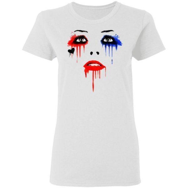 Harley Quinn Face T-Shirt