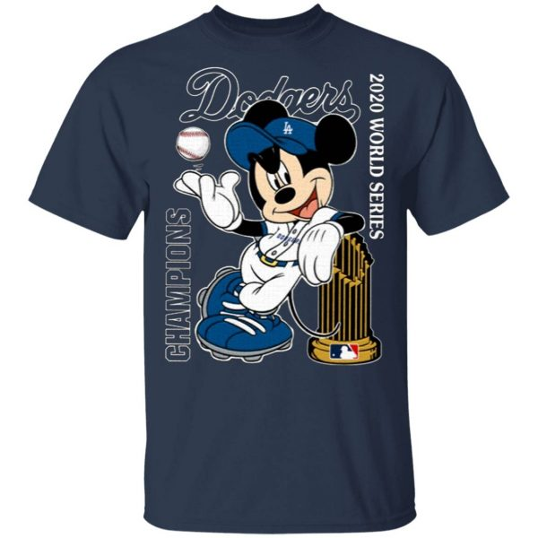 Mickey Mouse Dodgers Championship 2020 T-Shirt