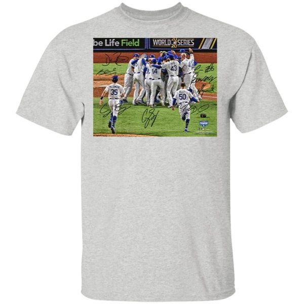 Team Los Angeles Dodgers MLB World Series Champions 2020 T-Shirt