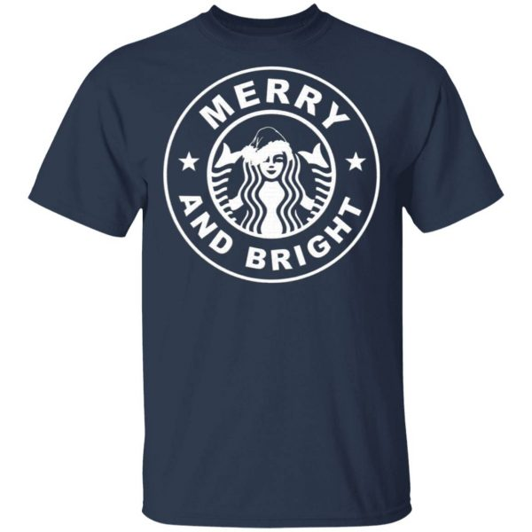 Starbucks Merry And Bright Christmas T-Shirt