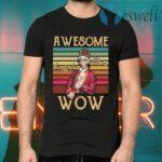 Aweomse Da Dad Da Wow Vintage Retro T-Shirts