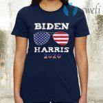 Biden Harris 2020 American Flag Sunglasses T-Shirt