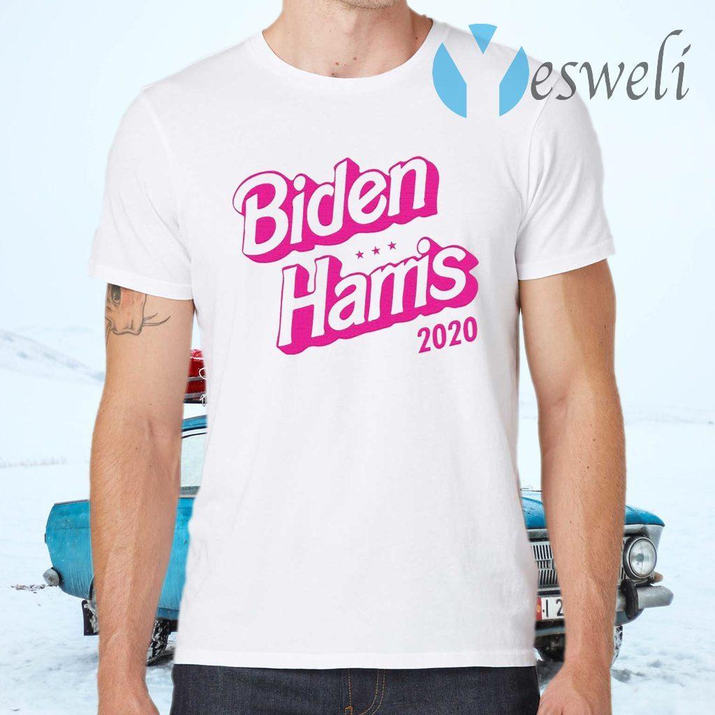 Biden Harris 2020 Pink T-Shirts