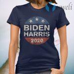 Biden Harris 2020 Vintage Button T-Shirt