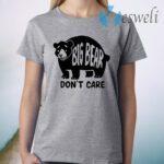 Big Bear Don't Care Grey T-Shirt