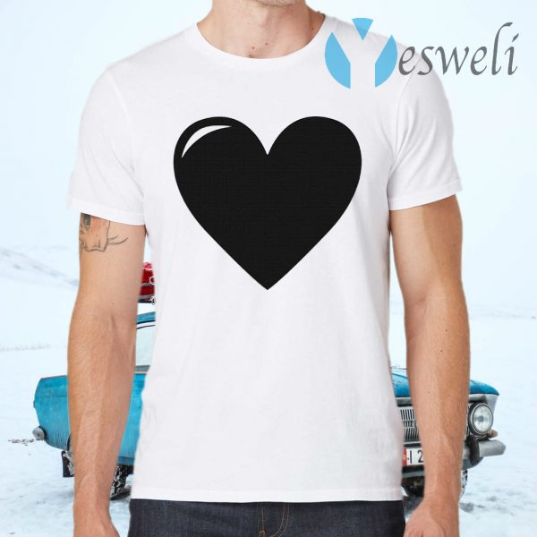 Black Heart T-Shirts
