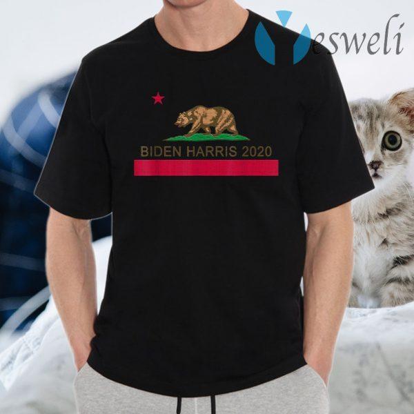 California For Joe Biden Kamala Harris 2020 T-Shirts