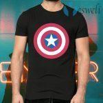 Captain America's Shield Superhero T-Shirts