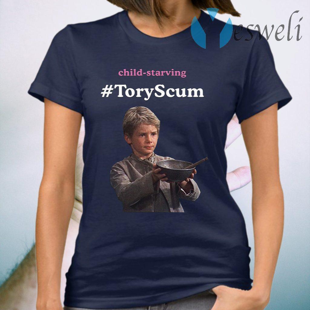 Child Starving ToryScum T-Shirt