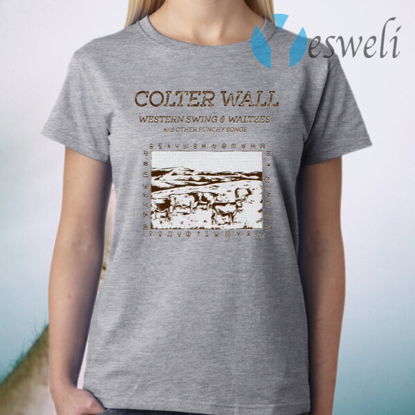 Colter Wall Western Swing & Waltzes T-Shirt