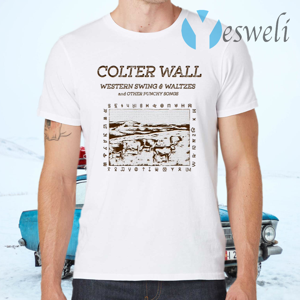 Colter Wall Western Swing & Waltzes T-Shirts