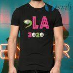 Comma LA 2020 Funny AKA 2020 Vote Joe Biden Kamala Harris T-Shirts