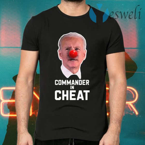 Commander in Cheat T-Shirts