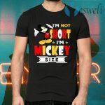 Disney I'm not short I'm Mickey size T-Shirts