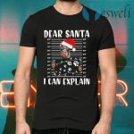 Doberman Dear Santa I can Explain Christmas T-Shirts