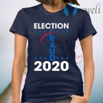 Election Fraud 2020 Trump Biden Ballot 2020 Election Voter Fraud Results Rigger T-Shirt