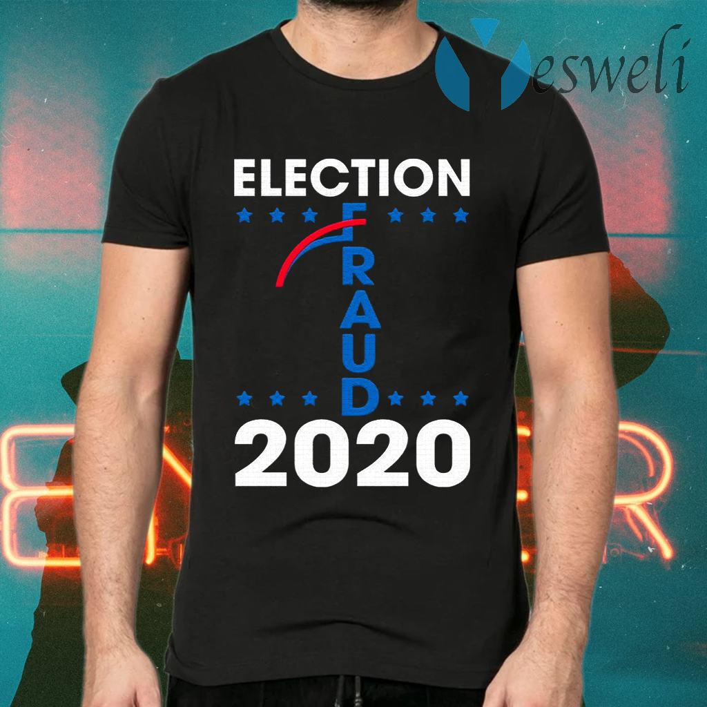 Election Fraud 2020 Trump Biden Ballot 2020 Election Voter Fraud Results Rigger T-Shirts
