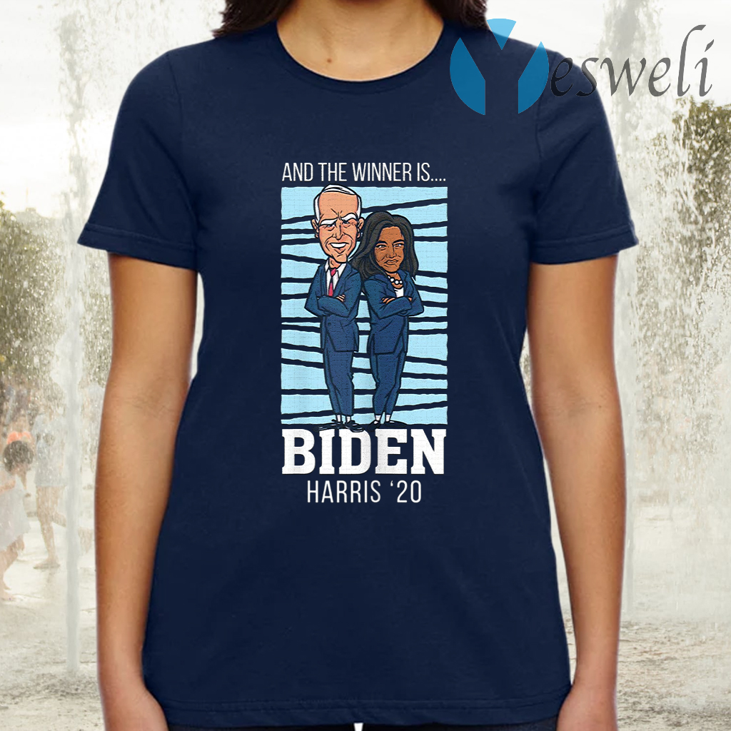 Election Winner Champions President Joe Biden Kamala Harris T-Shirt