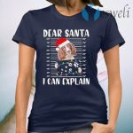 English Springer Spaniel Dear Santa I can Explain Christmas T-Shirt