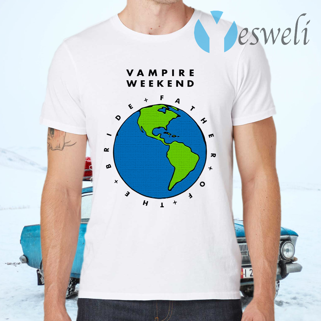 Father Of The Bride Tour 2019 Vampire Weekend Youth Kids T-Shirts