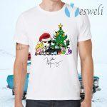 Freddie Mercury Playing Piano Christmas T-Shirts