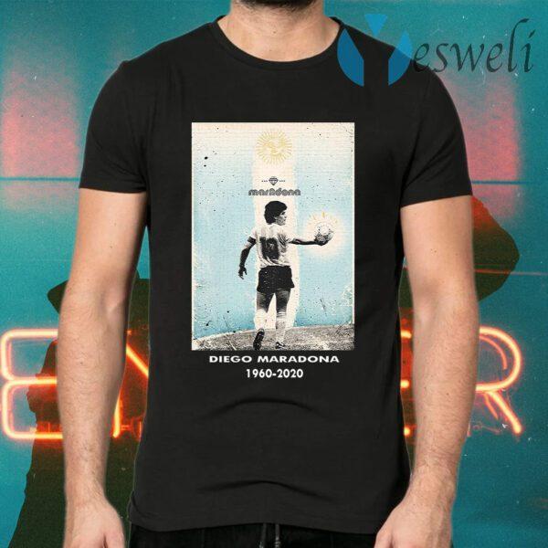 Goodbye Diego MRDN 1960 2020 T-Shirts