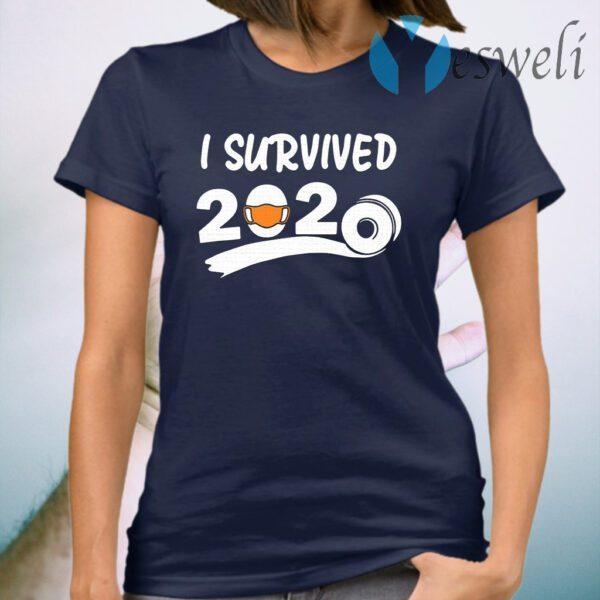 I survived 2020 face mask T-Shirt