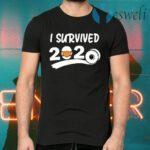 I survived 2020 face mask T-Shirts