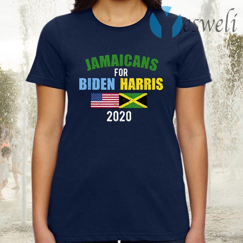 Jamaicans For Biden Harris 2020 Joe Kamala 2020 T-Shirt