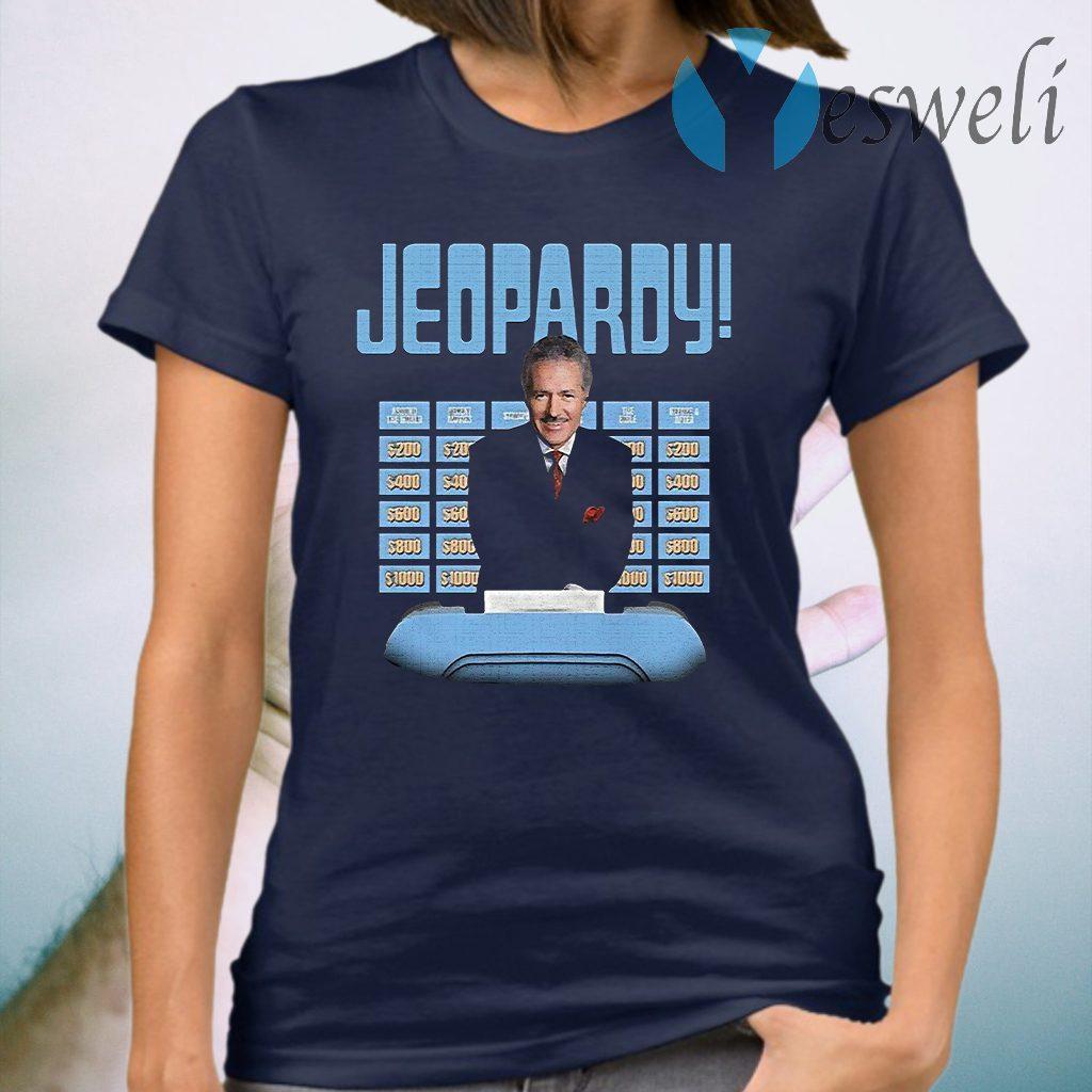 Jeopardy Alex Trebek T-Shirt