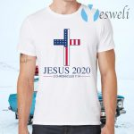 Jesus 2020 2 Chronicles 7 14 America Flag T-Shirts