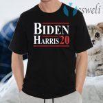 Joe Biden Kamala Harris 2020 Anti Trump Democrat Liberal T-Shirts