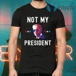 Joe Biden Not My President Black T-Shirts