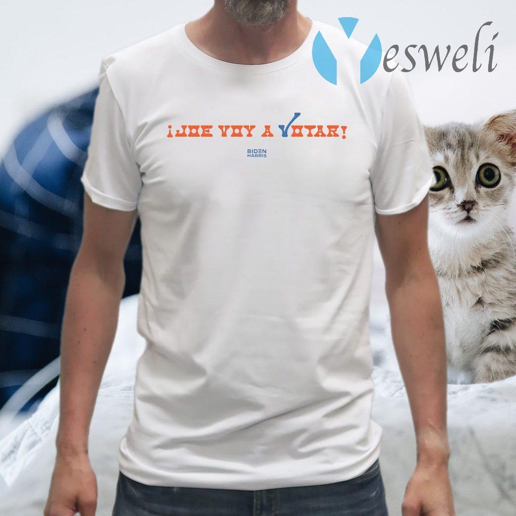 Joe Voy A Votar White T-Shirts