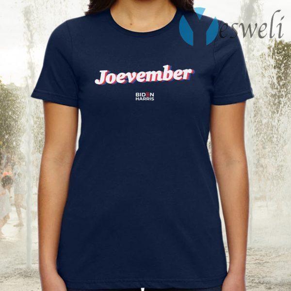 Joevember Navy T-Shirt