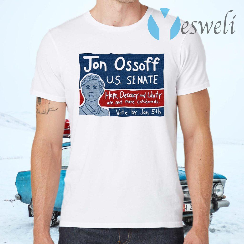 Jon Ossoff For Senate Vote By Jan 5th T-Shirts