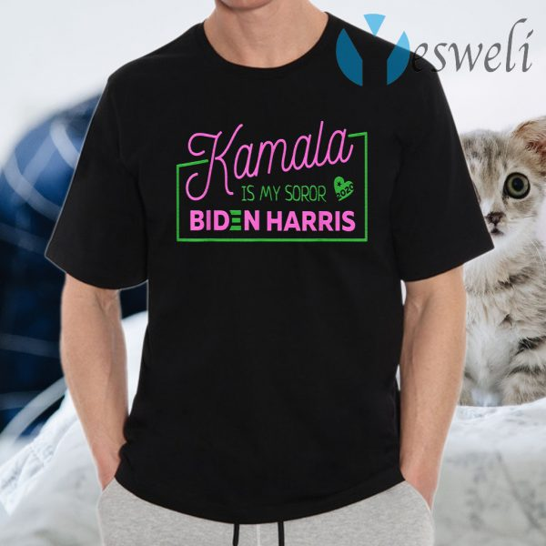 Kamala Is My Soror Sister Biden Harris Election Democrat T-Shirts